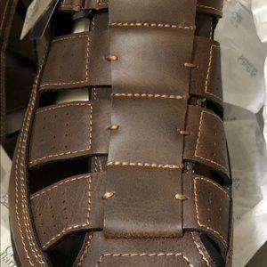 NIB/NWT Mens Croft & Barrow Ortholite Sandals